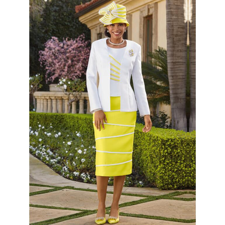 Between the Lines 3-Pc. Suit by EY Boutique