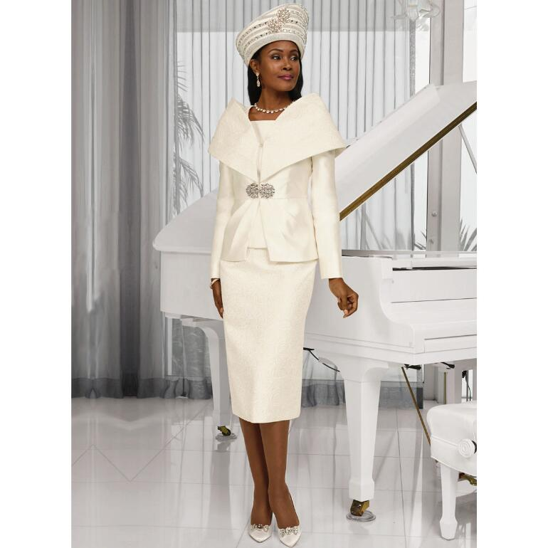 Accent of Jacquard 3-Pc. Suit by LUXE