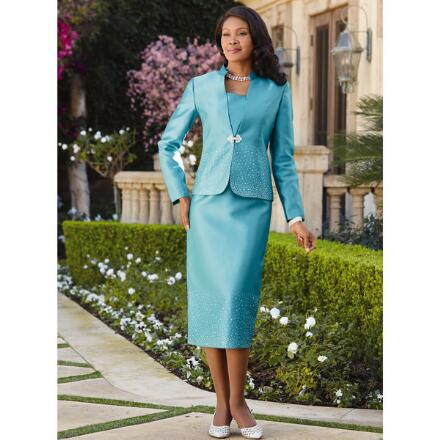Stellar Style 3-Pc. 2 Suit by EY Signature
