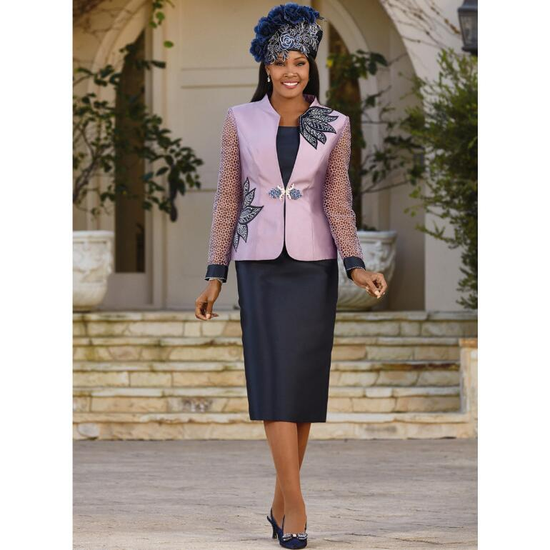 Rich in Design 3-Pc. Suit by Lisa Rene Black Label
