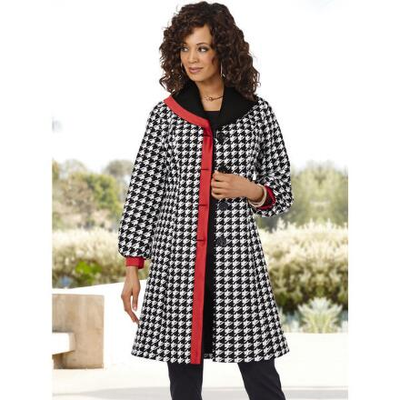 Bound for Houndstooth Coat by Studio EY