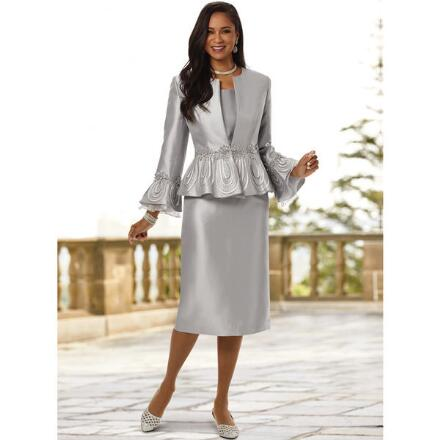 In the Loop of Luxury 3-Pc. Suit by EY Boutique
