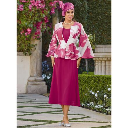 Artful Petals 3-Pc. Suit by EY Boutique