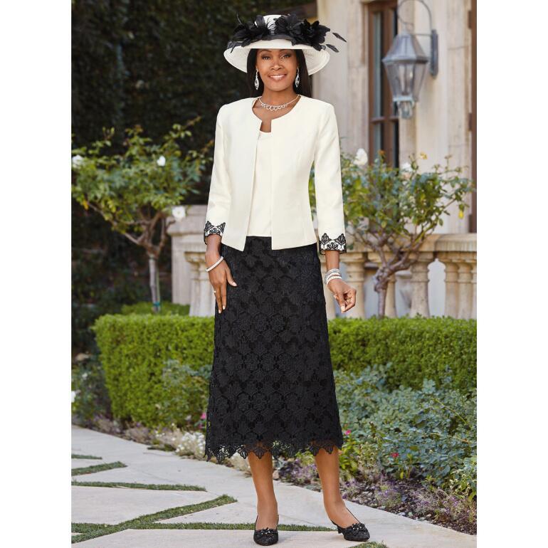 Portrait of Elegance 3-Pc. Suit by EY Boutique