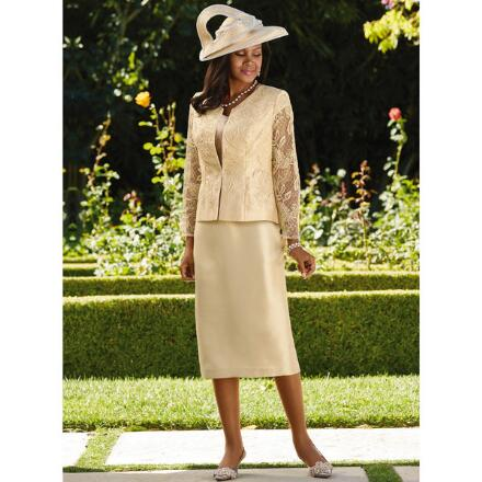 Lace and Grace 3-Pc. Suit by Champagne, Italy