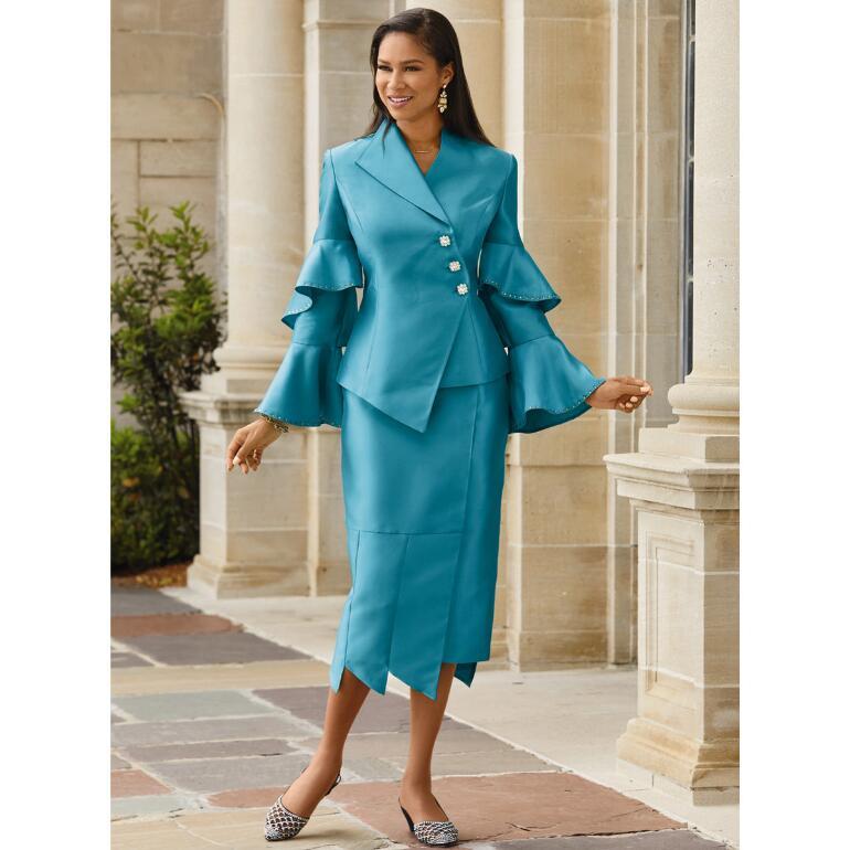 Fabulous Flutter Suit by Lisa Rene