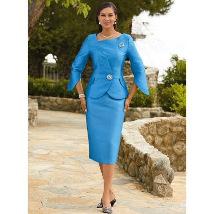 Richly Curved Suit by EY Boutique
