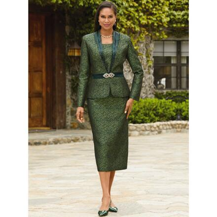 Richness of Jacquard Suit by EY Boutique