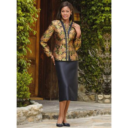 Very Versailles Jacquard Suit by EY Boutique
