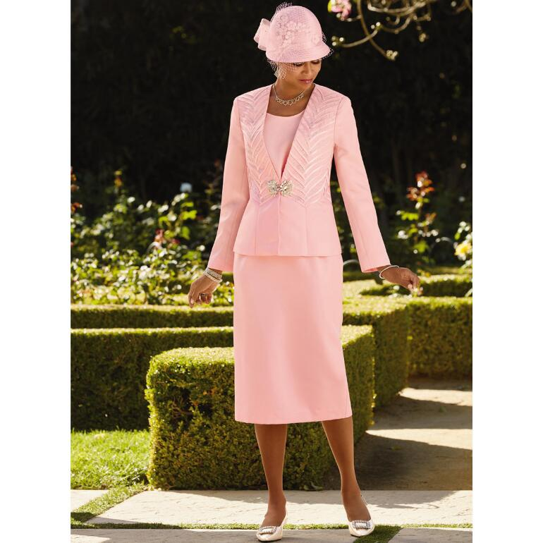 Remarkable Ribbons 3-Pc. Suit by EY Boutique