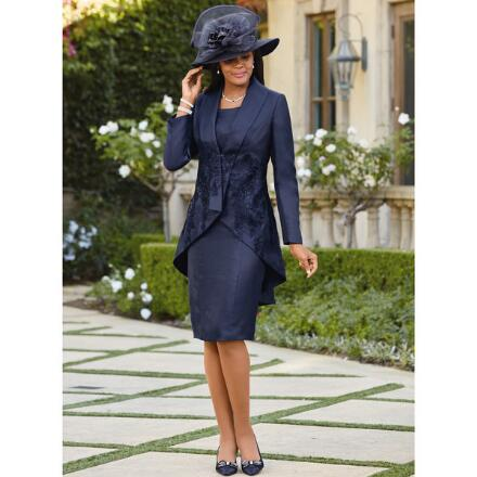 Elaborately Yours Jacket Dress by EY Boutique