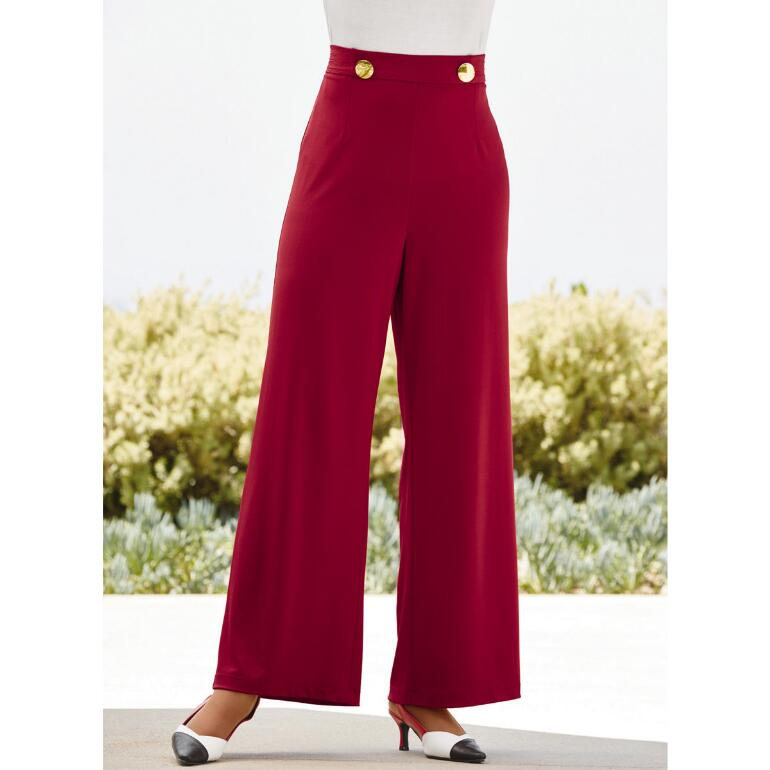 All About Buttons Pant by Studio EY