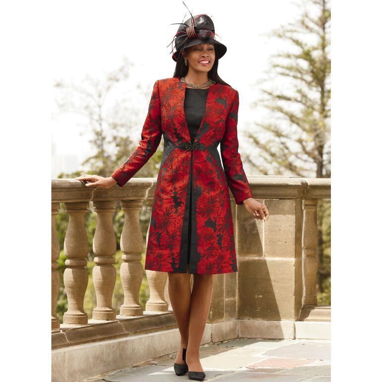 Outstanding Jacquard Jacket Dress by BMJ Studio