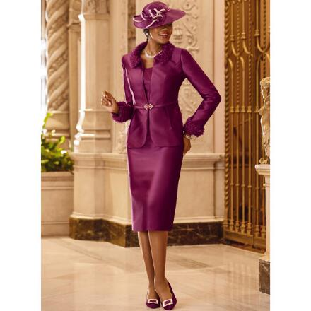 The Duchess Suit by LUXE