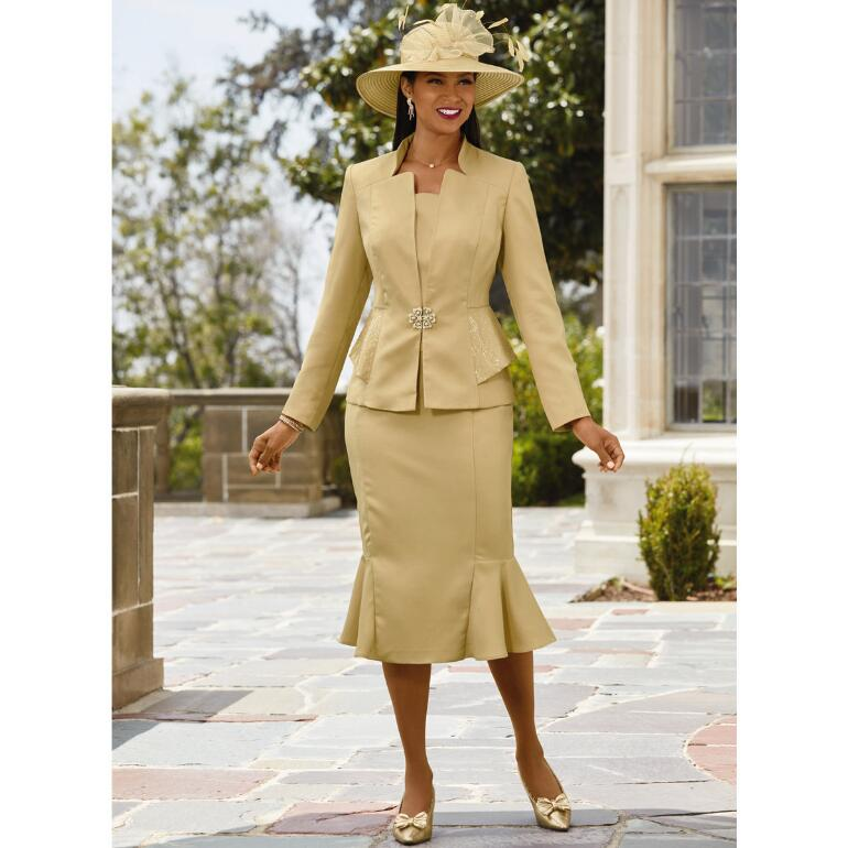 Elegant Ambience Suit by EY Boutique