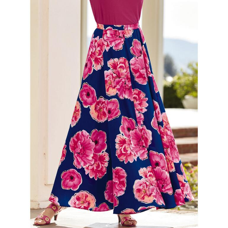 Flaunt Your Flowers 5-Yard Maxi Skirt by Studio EY