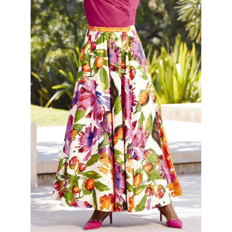 Beau Bouquet Maxi Skirt by Studio EY