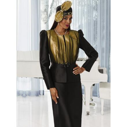Overlay of Elegance Suit by LUXE