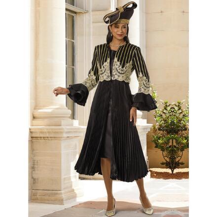 Wealth of Details Jacket Dress by Lisa Rene Black Label