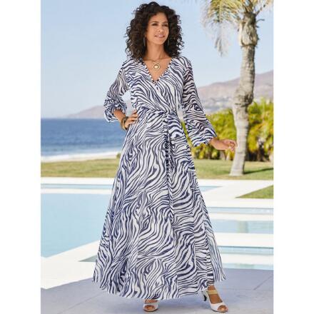 Swirlscape Print Dress by Studio EY
