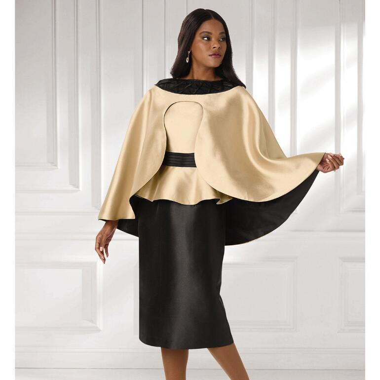 Great Cape Dress by EY Signature