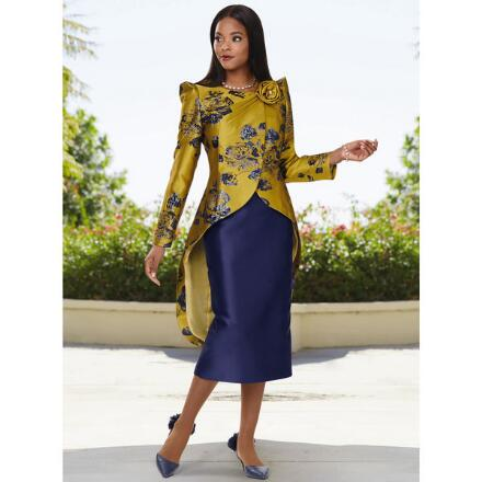 Beauty of Blooms Suit by Dorinda Clark-Cole