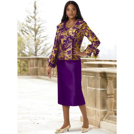 Beauty of Baroque Suit by EY Boutique