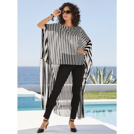 Say High-Low to Stripes Top by Studio EY