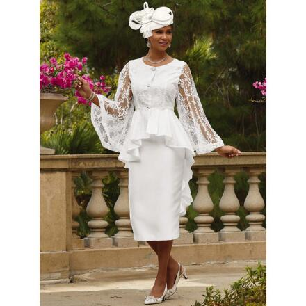 Delicate Branches Suit by Dorinda Clark-Cole