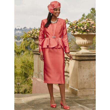 Captivating Cutout 3-Pc. Suit by Dorinda Clark-Cole