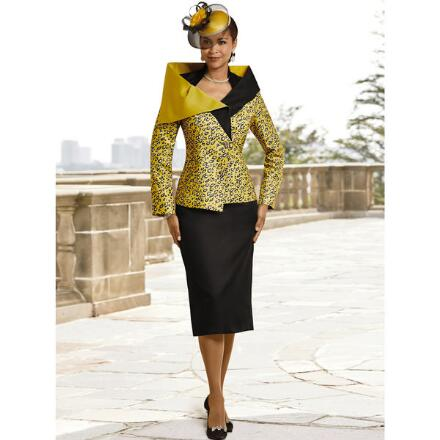Fiercely Fashionable Suit by EY Boutique