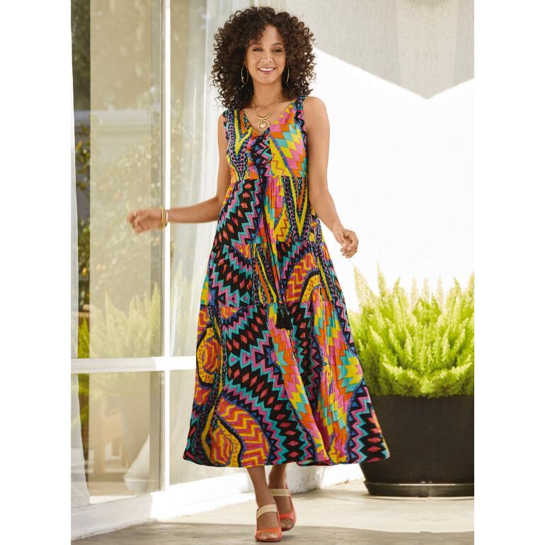 Kaleidoscope Tier Dress by Studio EY