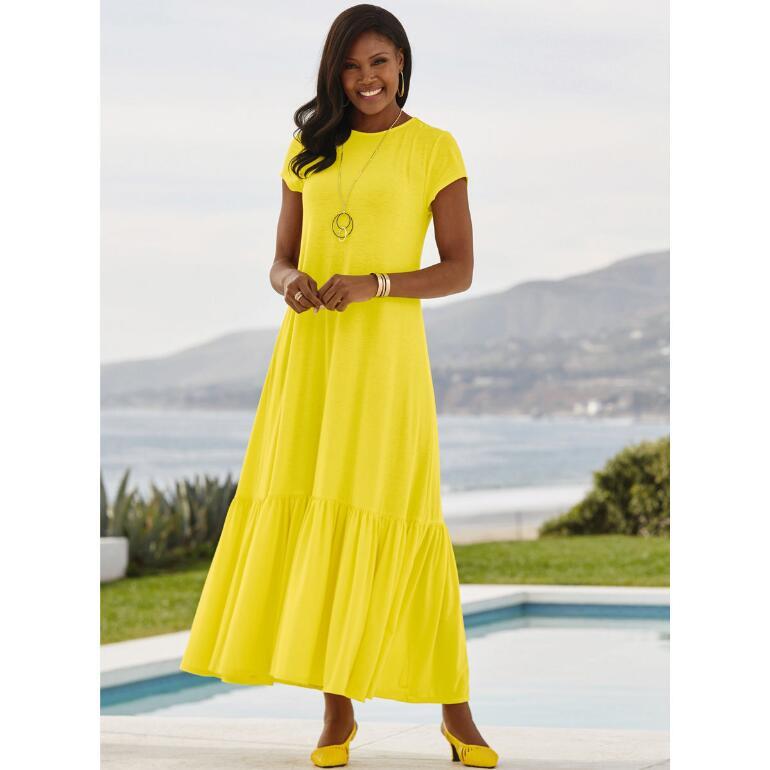 Ruffle-Border Essential Dress by Studio EY