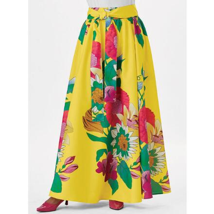 Island Floral Skirt by Studio EY