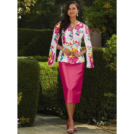 Boulevard of Blooms Suit by Tally Taylor
