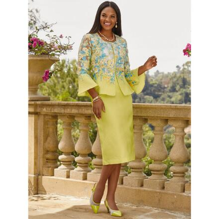 Fantasy of Flowers 3-Pc. Suit by Dorinda Clark-Cole