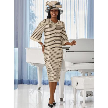Grandly Graphic Suit by LUXE