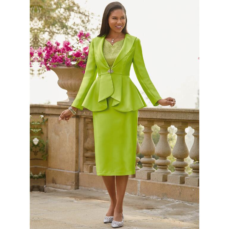 Queen of Sheen 3-Pc. Suit by Tally Taylor