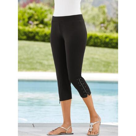 Embellished-Trim Legging by Studio EY