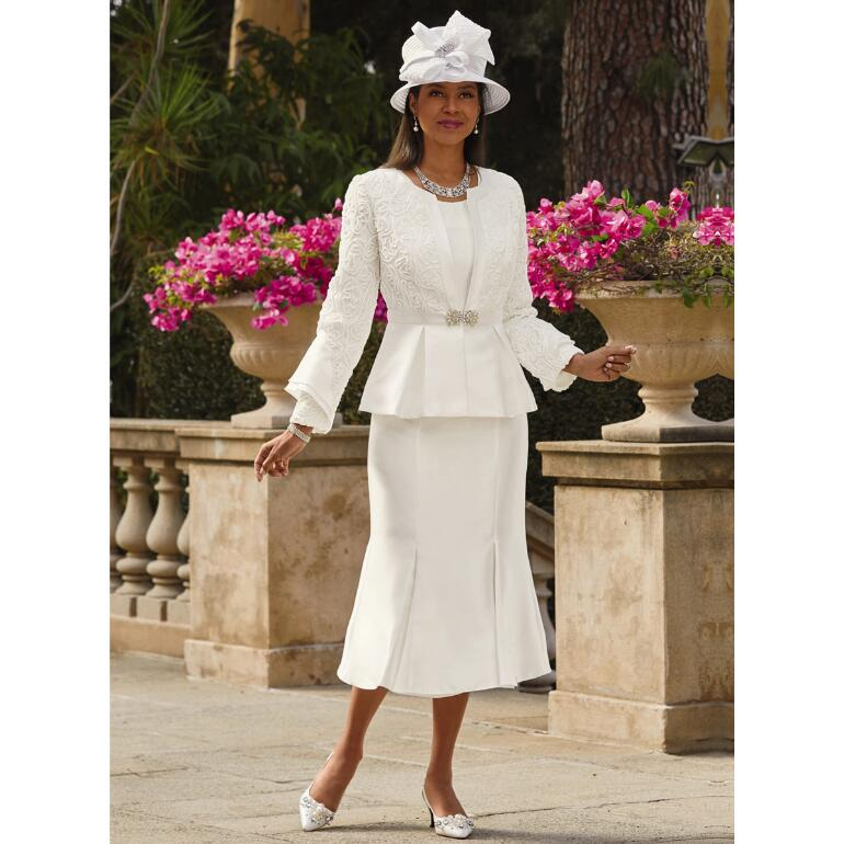 This Is Elegance 3-Pc. Suit by Lily and Taylor
