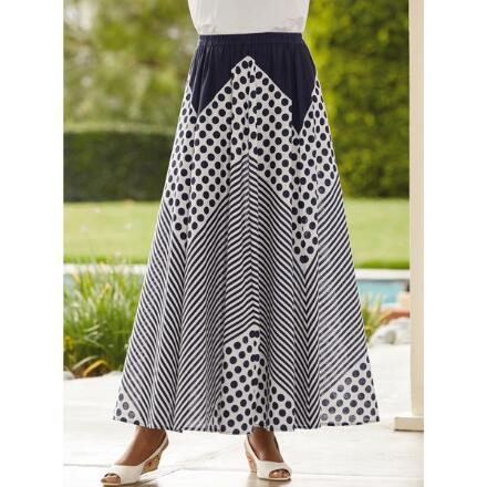 Dots and Stripes Skirt by Studio EY