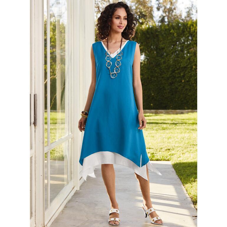 Layered Duotone Dress by EY Signature