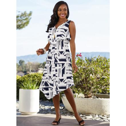 Bold Graphic Dress by EY Signature