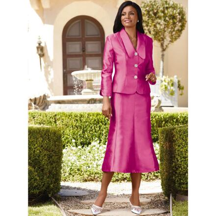 Simply Elegant Suit by EY Signature