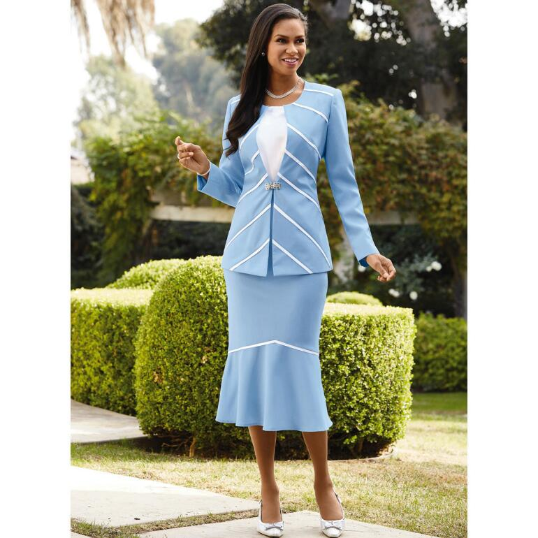 Flattering Lines 3-Pc. Suit by EY Signature