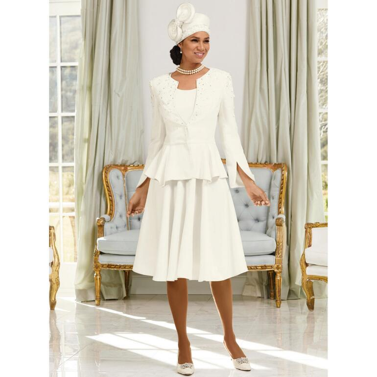 Precious Petals Dress and Jacket by LUXE