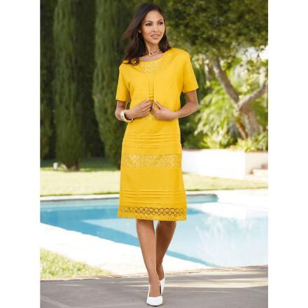 Crochet Cachet Dress and Jacket Set by Studio EY