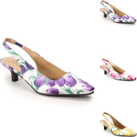 Garden Party Slingback by EY Boutique