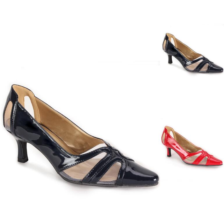 Mesh and Shine Pump by EY Boutique
