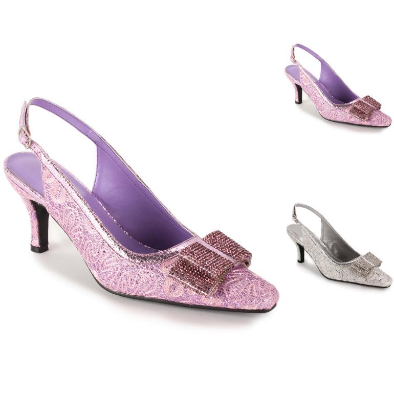 Sparkle and Shine Slingback by EY Boutique